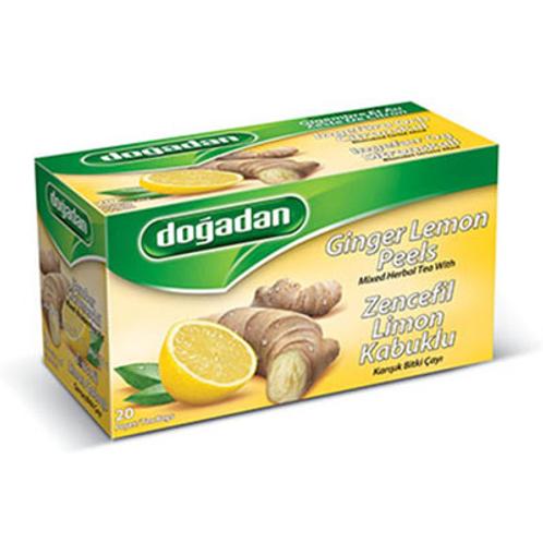Dogadan Ginger Lemon Peels (20 Bags)