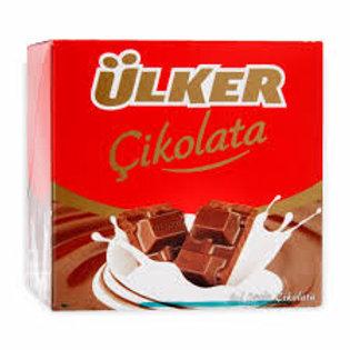 Ulker Sutlu Cikolata / Milk Chocolate - 80 Grx6