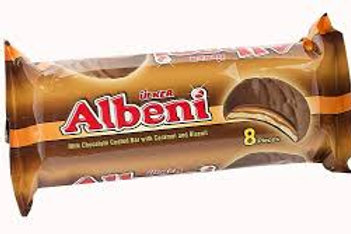 Ulker Albeni Ring Chocolate covered caramel cookies