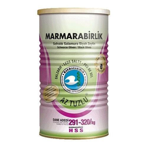 Marmara Birlik  Low Salt Gemlik Black Olives 800 g