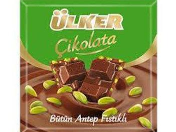 Ulker Chocolate Pistachio 80gr
