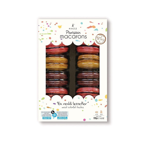 Halal Macarons with Chocolate 12pcs Made in Turkey