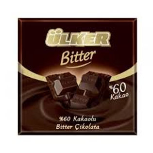 ULKER CHOCOLATE BARS BITTERSWEET 80g