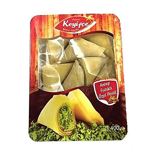 Keyifce  Antep Fistikli Ozel Pestil,  Delight with Crushed Pistachios 400 g