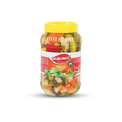 Yakamoz 3 lt Mixed Vegetable Pickles