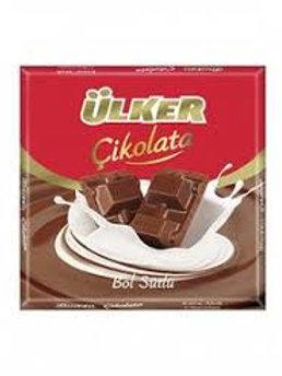 Ulker Sutlu Cikolata / Milk Chocolate - 80 Gr