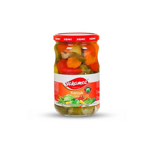 Yakamoz Mixed Vegetable Pickles 720 ml