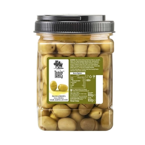 Cracked Green Olives (Memecik Region)