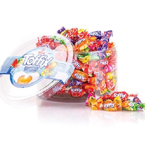 Candy Break Toffix Assorted Fruity Filled Chew 700 g