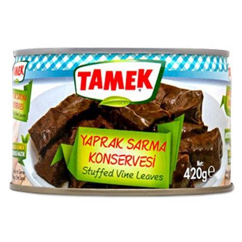 Tamek Stuffed Vine Leaves, Yaprak Sarma Konservesi, 420 gr