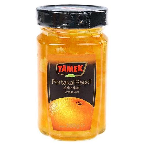 Tamek Orange Jam, Portakal Receli, 380 gr