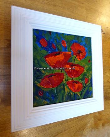 resize_Elaine Allender - impasto poppies