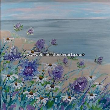 Resize_sea holly and daisies (2).jpg