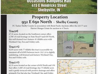 SOLD: 225.77 Acre Harriet Munger Estate