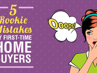 5 Rookie Mistake By First-Time Home Buyers (And How To Avoid Them)