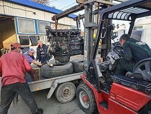 Двигатель MAN  euro 3
