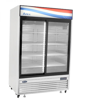 MCF8709 Bottom Mount (2) Two Sliding Doors Refrigerator