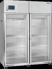 Full size Double Door Laboratory and Pharmacy Refrigerator - 45 cu ft capacity