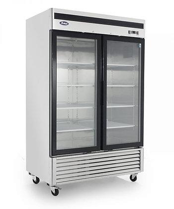 MCF8707 Bottom Mount (2) Two Glass Door Refrigerator