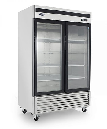 MCF8703  Bottom Mount (2) Two Glass Door Freezer