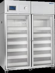 Full Size Double Door Blood Bank Refrigerator - 45 cu ft capacity