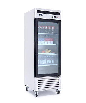 MCF8705 Bottom Mount (1) One Glass Door Refrigerator
