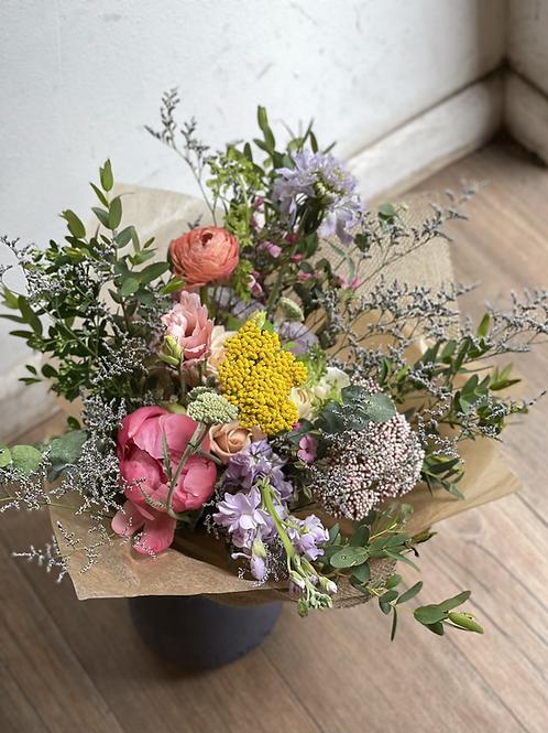 Rustic Pastel Flower Bouquet