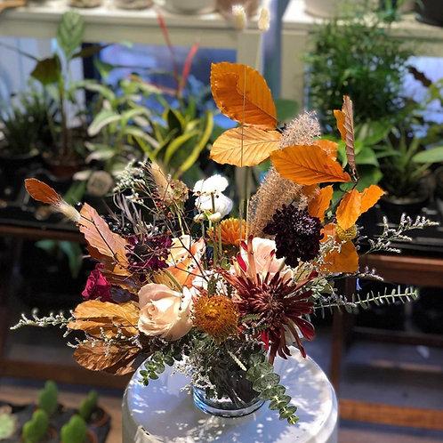 Rustic Fall Flower Bouquet