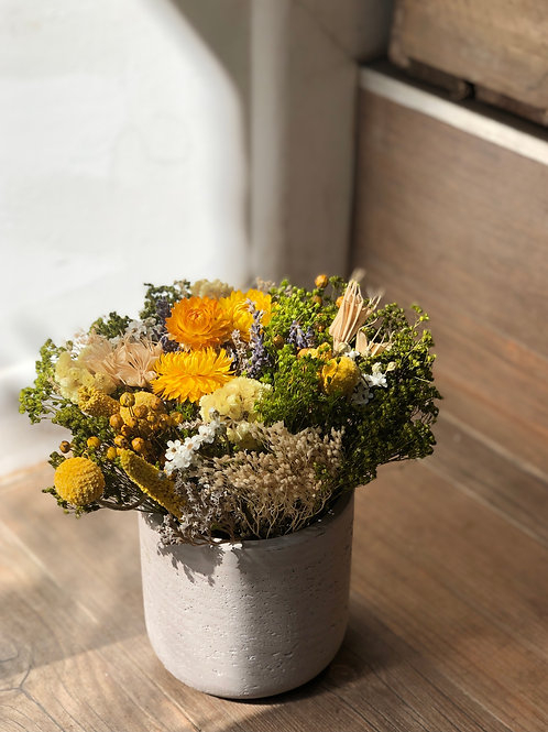 Dried Bouquet - Yellow