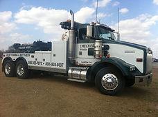 Heavy Duty Towing Semi Wrecker Tow Truck