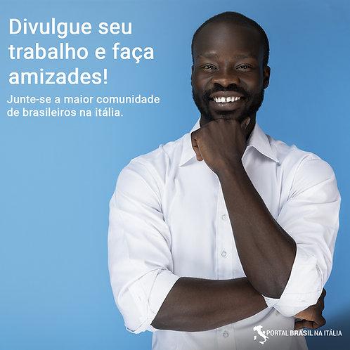 Inscrição no Portal Brasil Itália (Site + App)
