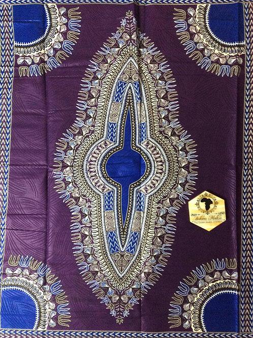 Purple & Blue Dashiki DAS017