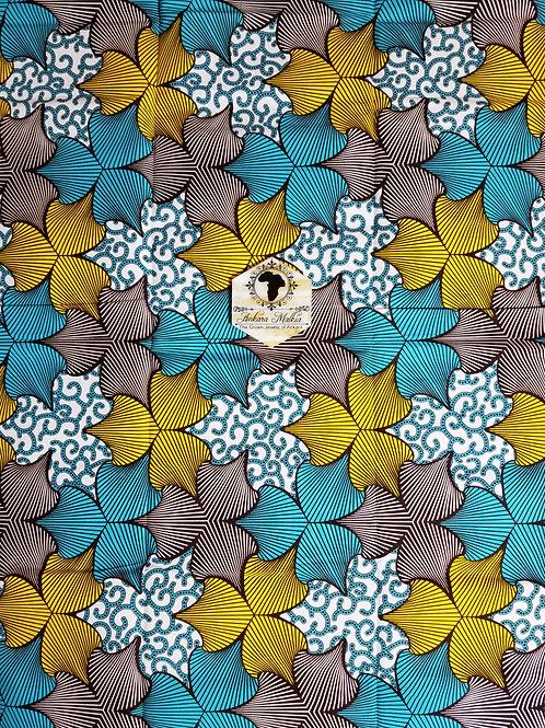 PTL013 Blue & Yellow Petal  & Macaroni Combo PTL013