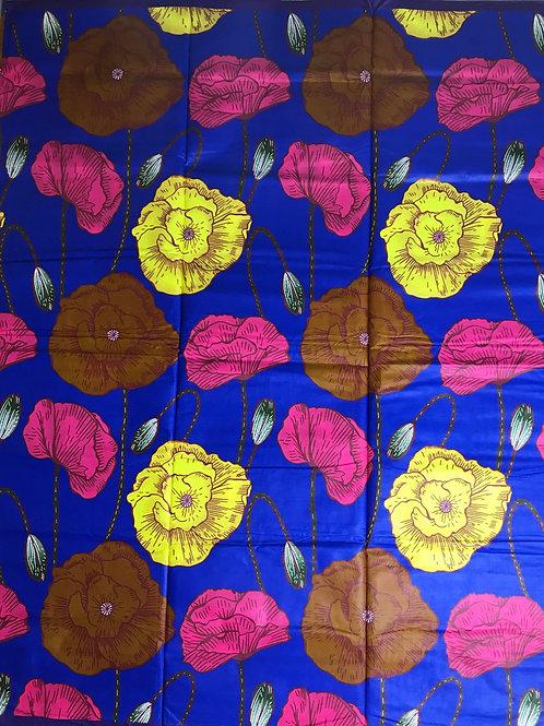 Royal Blue Epic Blooms Med Java RF025