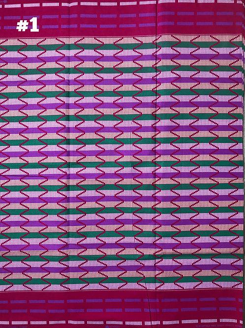 Pink Kente KEN001