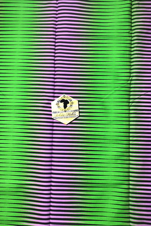 Green & Purple Thin Lines Abstract 0034