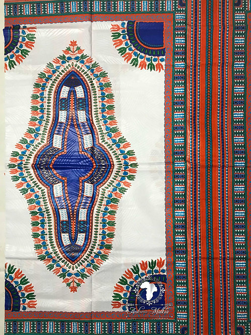 Orange & Blue Dashiki DAS003