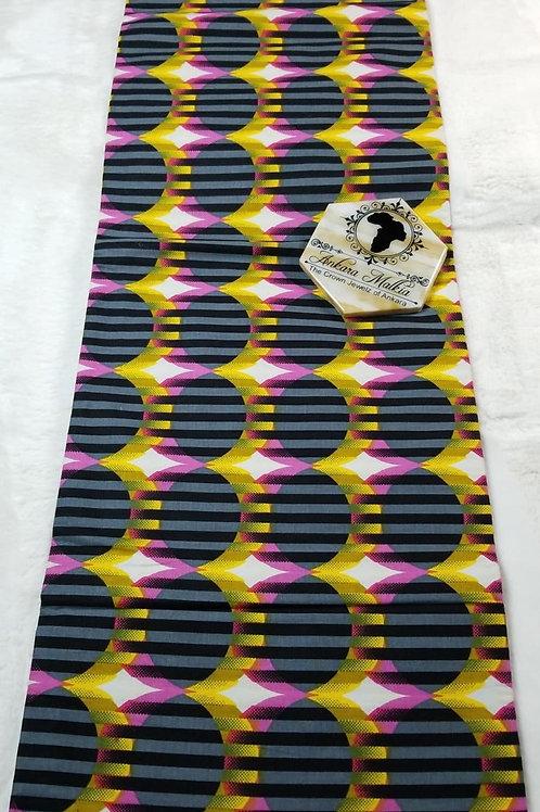 Pink & Yellow Pentuple Lined Circles ULT Class PRE0063