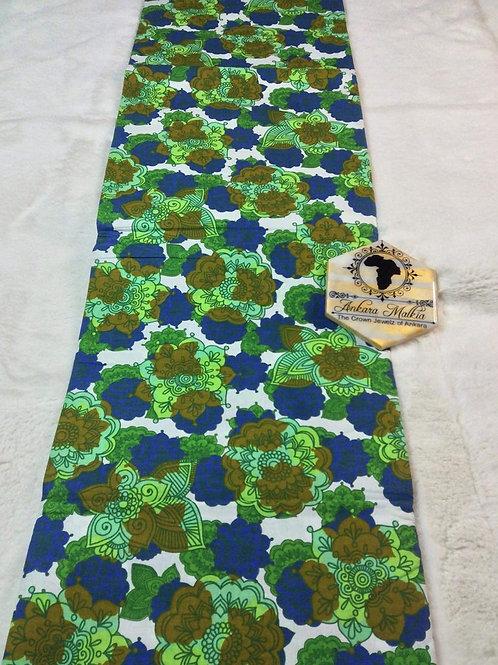 Green Floral Ult Class Ankara PRE0042