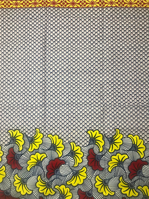 Red & Yellow Petals with Boarder PTL007