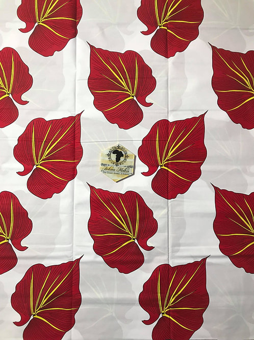 """White & Red  """"Peace"""" MEF003"""