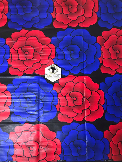 Imperial Red & Blue Roses MEF028