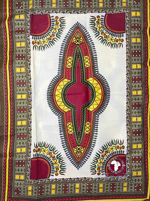 Red & Yellow Dashiki DAS006