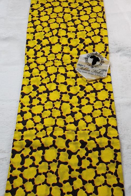 """Yellow """"I"""" Abstract ULT Class Ankara PRE0062"""