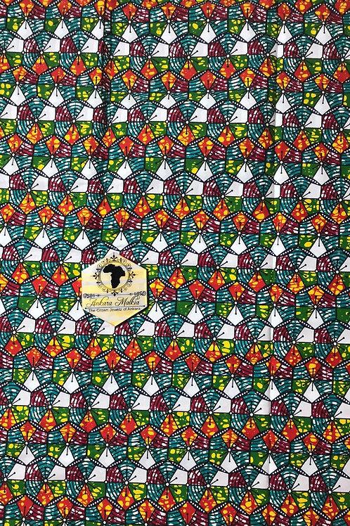 Bright Multicolor Geo Abstract 0044