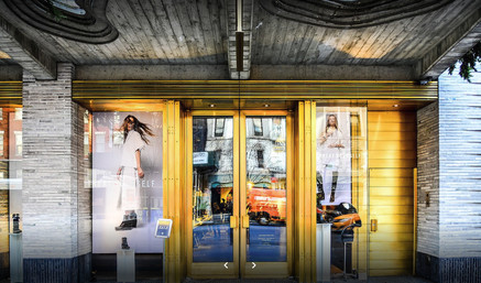 Sorel Lux Window Display in NYC. Image by Marek Rygielski