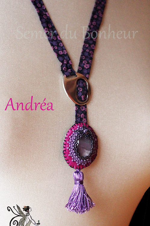 "Collier ajustable ""Andréa"""
