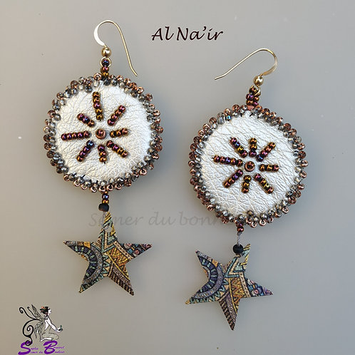 Boucles d'oreilles Al Na'ir