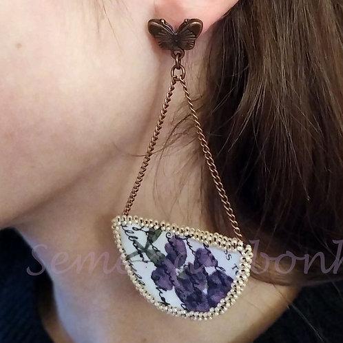 Boucles d'oreille Florilège