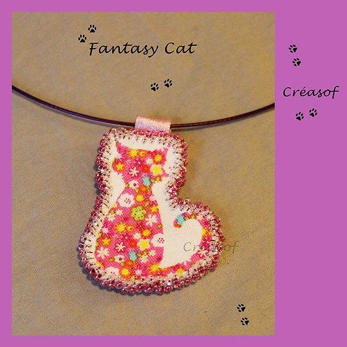 Collier Fantasy Cat